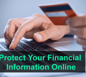 Protect Your Financial Information Online