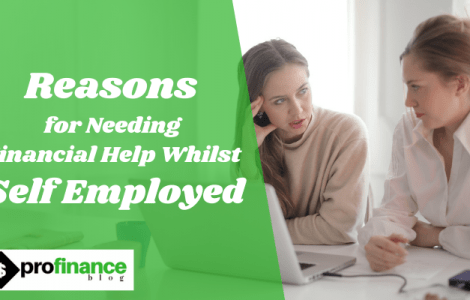 Financial Help Whilst Self Employed